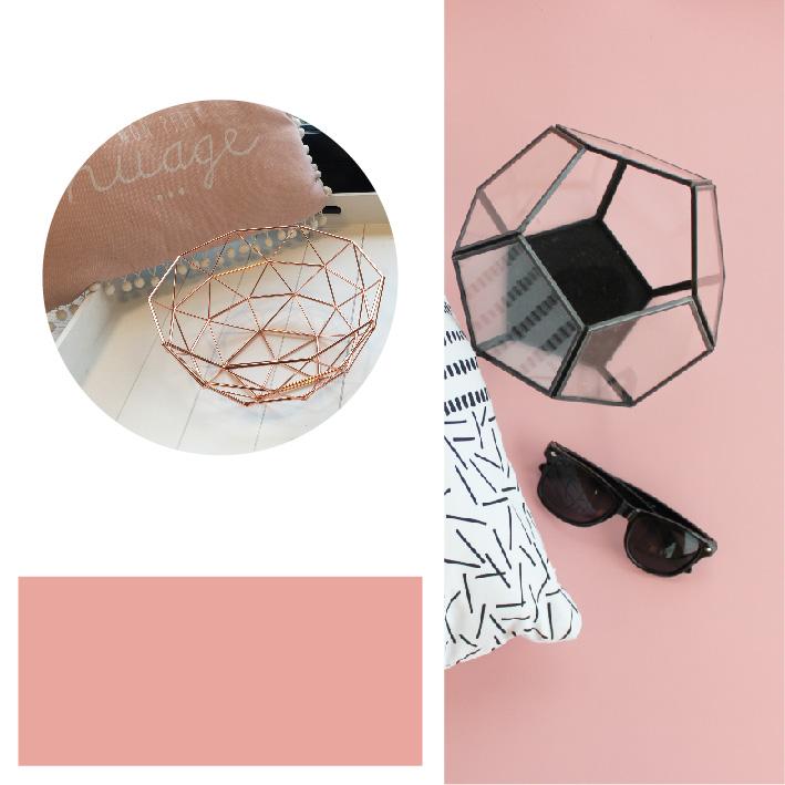Essence de rose, couleur tendance 2017